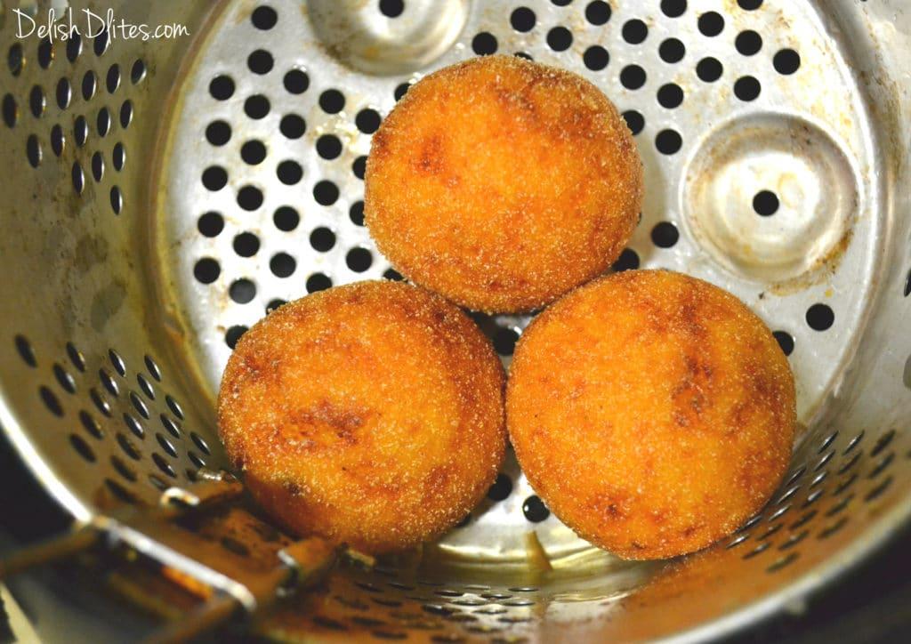 Sweet Potato Rellenos De Papa | Delish D'Lites
