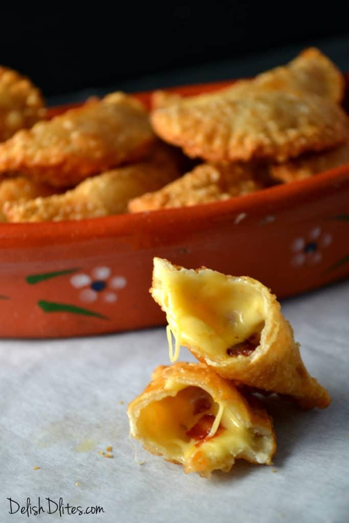 Bacon & Cheese Empanadas   Delish D'Lites