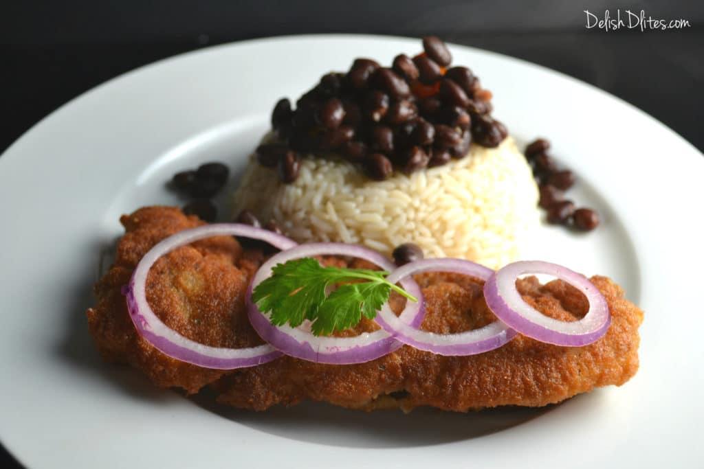 Bistec Empanizado (Cuban Breaded Steak) | Delish D'Lites
