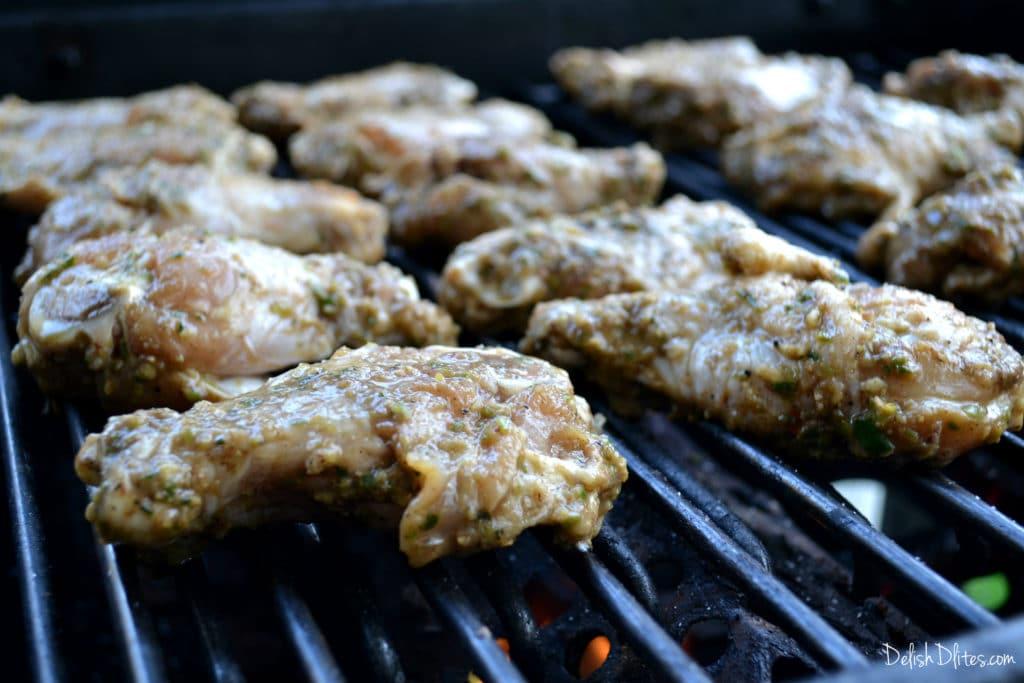 Caribbean Jerk Chicken Wings | Delish D'Lites