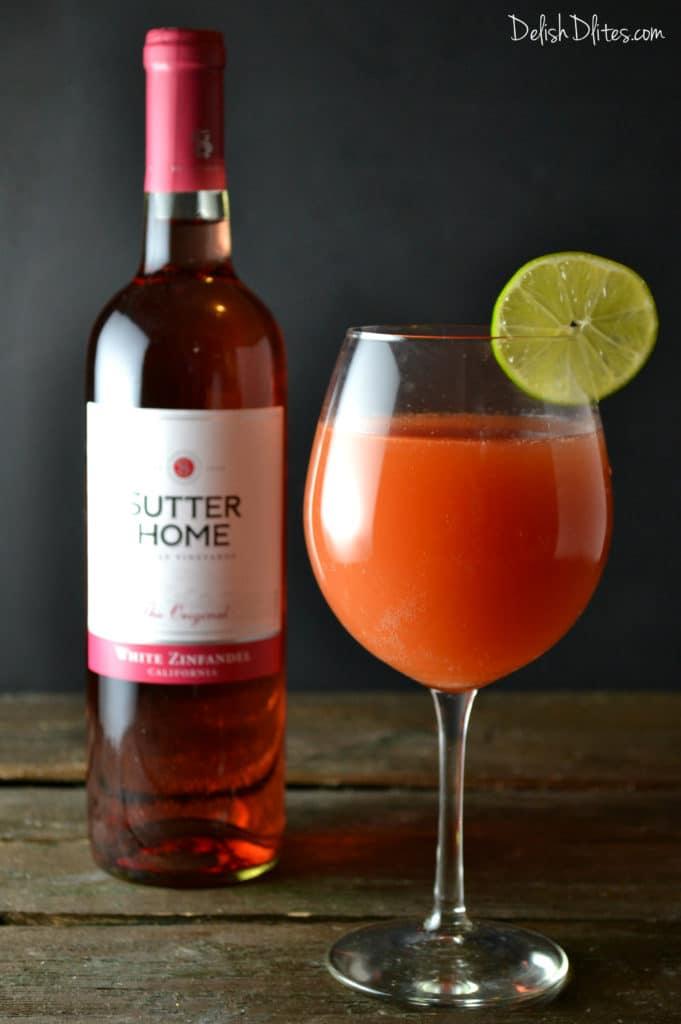 Guava Lime Spritzer | Delish D'Lites