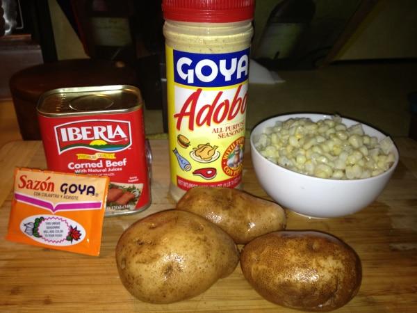 Guilt free carne bif puerto rican stewed corned beef
