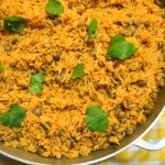 Arroz Con Gandules (Puerto Rican Rice with Pigeon Peas)