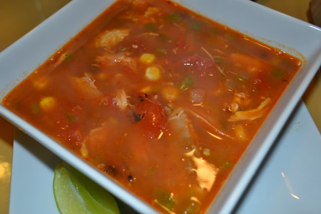 serve mine up with some lime wedges, a sprinkle of cheese and ...