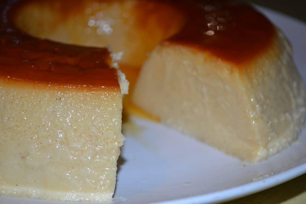Coconut Cream Cheese Flan | Delish D'Lites