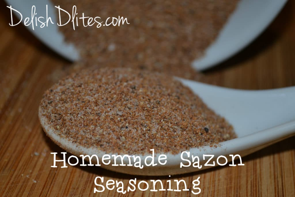 Homemade Sazon Seasoning Delish D Lites