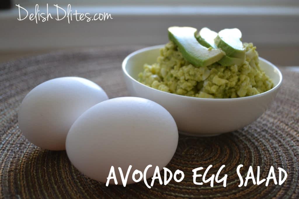 Avocado Egg Salad | Delish D'Lites