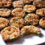 Baked Zucchini Parmesan Crisps | Delish D'Lites