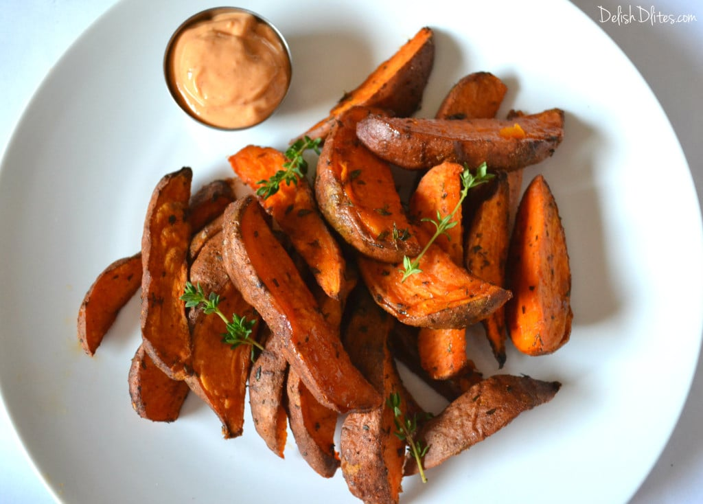 Cajun Spiced Sweet Potato Wedges