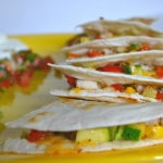 Chicken and Veggie Quesadillas