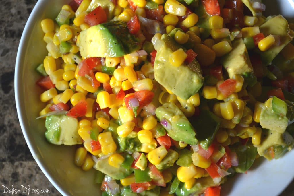 Summer Corn Salad Recipe — Dishmaps