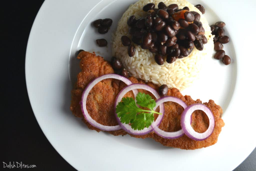 Bistec Empanizado Cuban Breaded Steak Delish D Lites