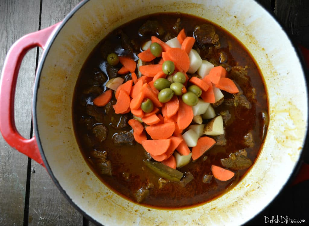 Carne Guisada Puerto Rican Beef Stew Delish D Lites