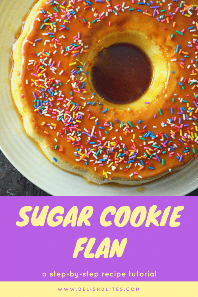 Sugar Cookie Flan   Delish D'Lites