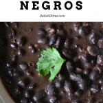 Frijoles Negros | Delish D'Lites