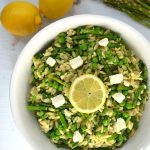 Spring Orzo Salad with Asparagus and Peas   Delish D'Lites