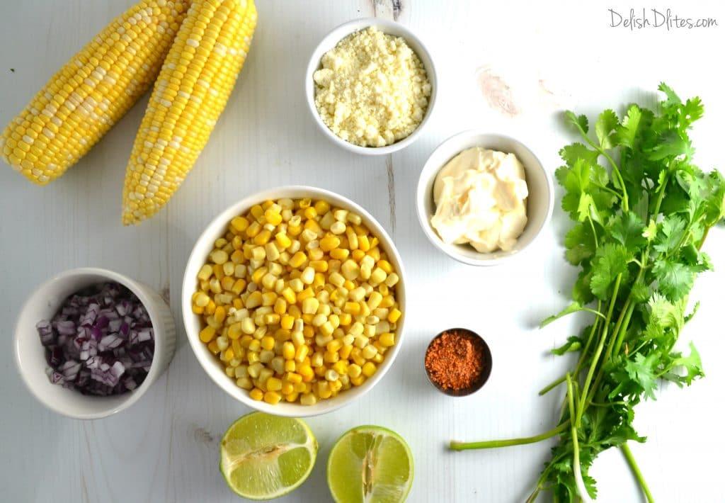 Mexican Street Corn Salad | Delish D'Lites