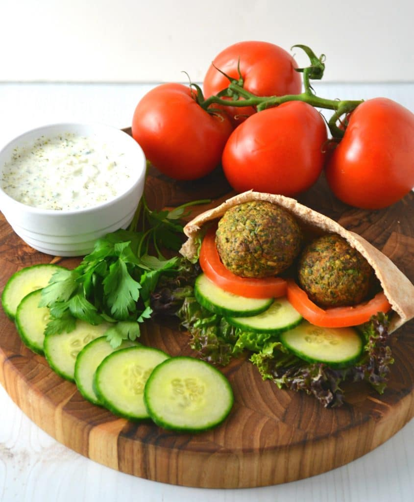 How To Make Vegan Falafel Style Fritters Using a Veggie Burger | Delish D'Lites