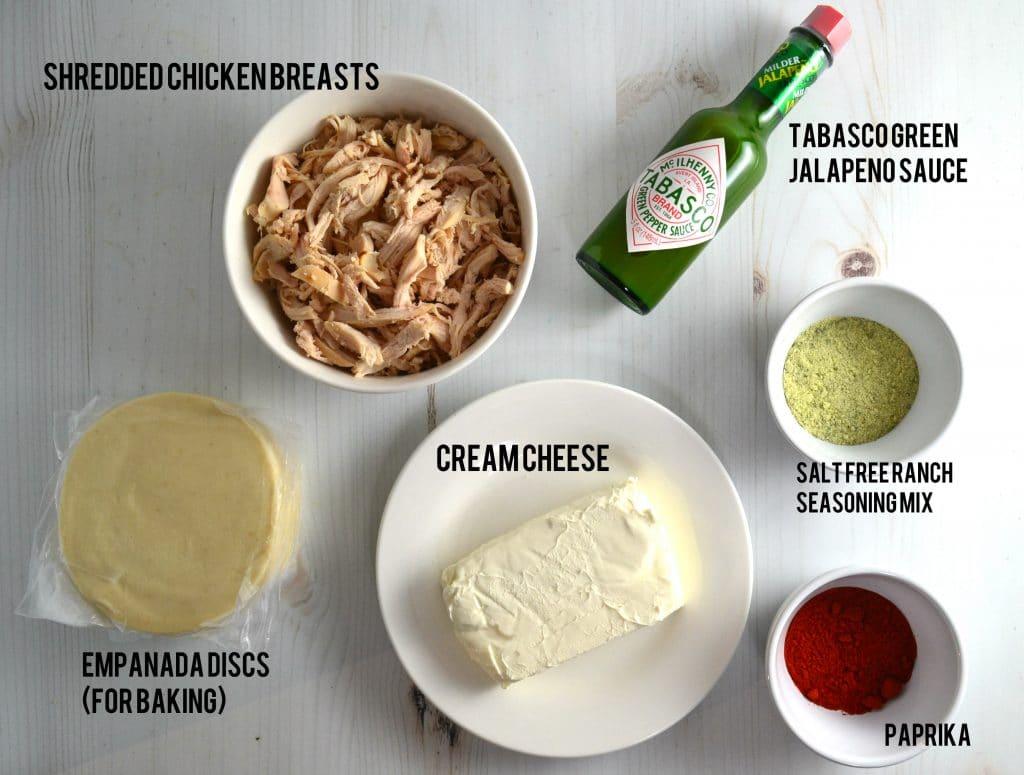 Buffalo Chicken Empanadas   Delish D'Lites