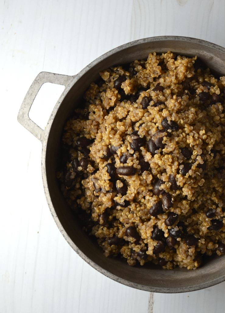Quinoa Congri   Delish D'Lites