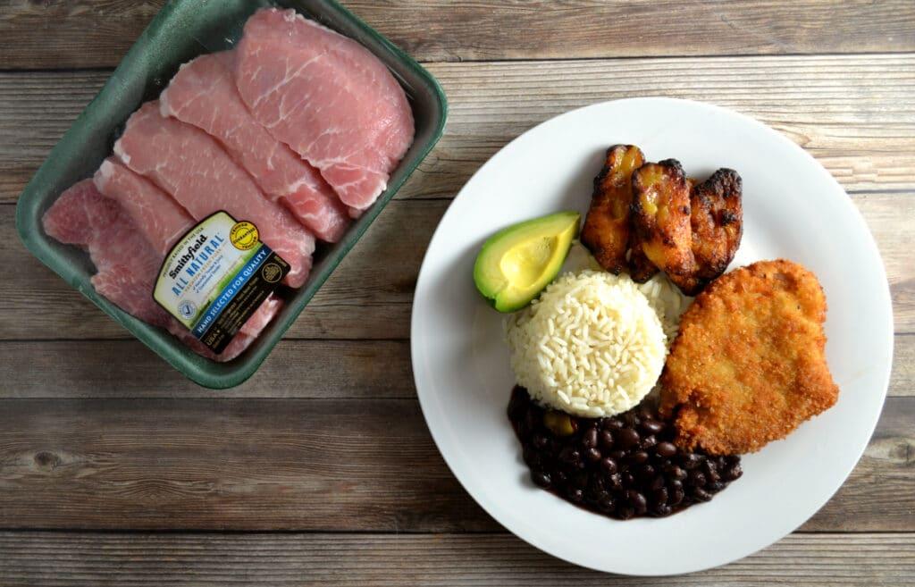 Milanesa de Cerdo (Breaded Pork Chops) | Delish D'Lites