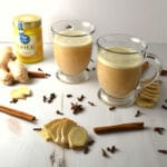 Turmeric Ginger Tea Latte   Delish D'Lites