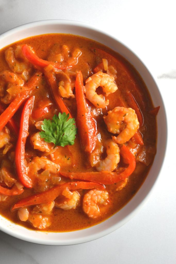 Cuban Style Shrimp Creole (Camarones Enchilados)