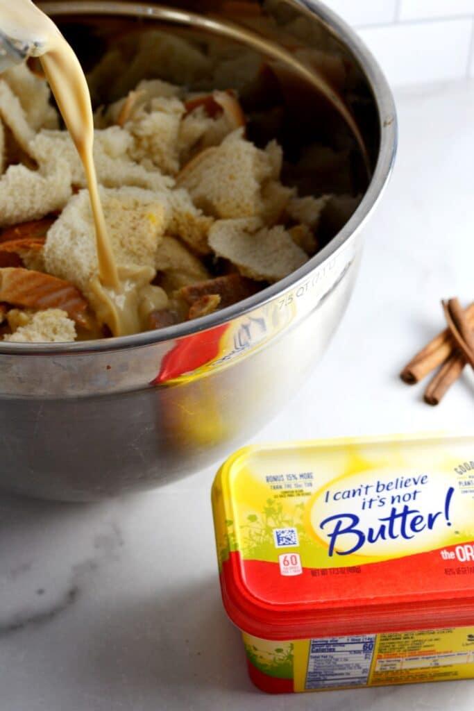 Budin (Puerto Rican Bread Pudding)