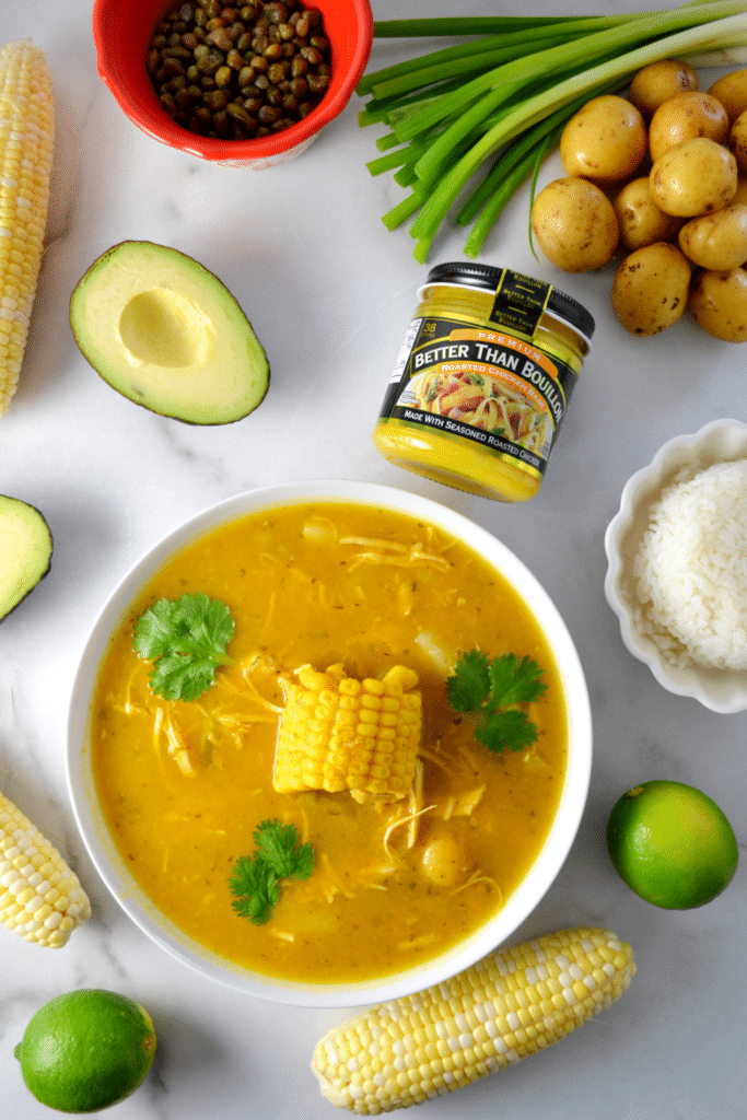 Colombian Ajiaco (Chicken and Potato Soup) | Delish D'Lites